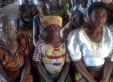 Local beneficiaries in a village in Enugu, Nigeria